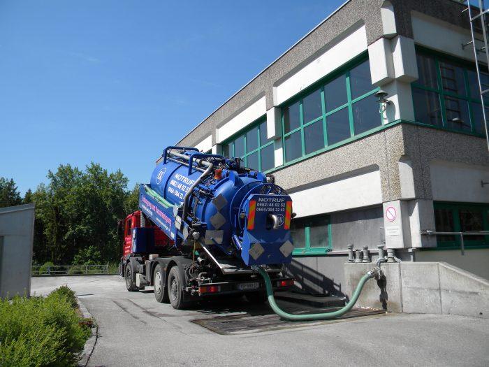 Kanalreinigung durch Installateur-Notdienst Permetinger in Salzburg und Tirol