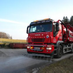 Flächenreinigung durch Installateur-Notdienst Permetinger in Salzburg und Tirol